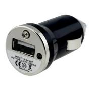 Įkroviklis automobilinis su USB jungtimi Juodas (0.5A)