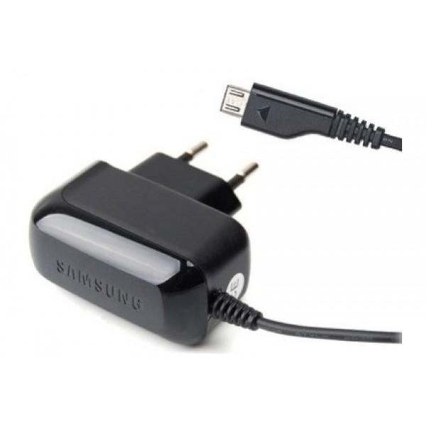 Įkroviklis originalus tinklo su laidu ir microUSB jungtimi Samsung 4.75V 550mA (Original)