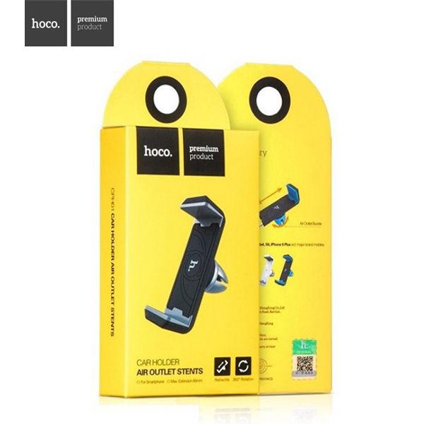 """Automobilinis Universalus telefono laikiklis """"Hoco"""" tvirtinamas ant ventiliacijos grotelių"""