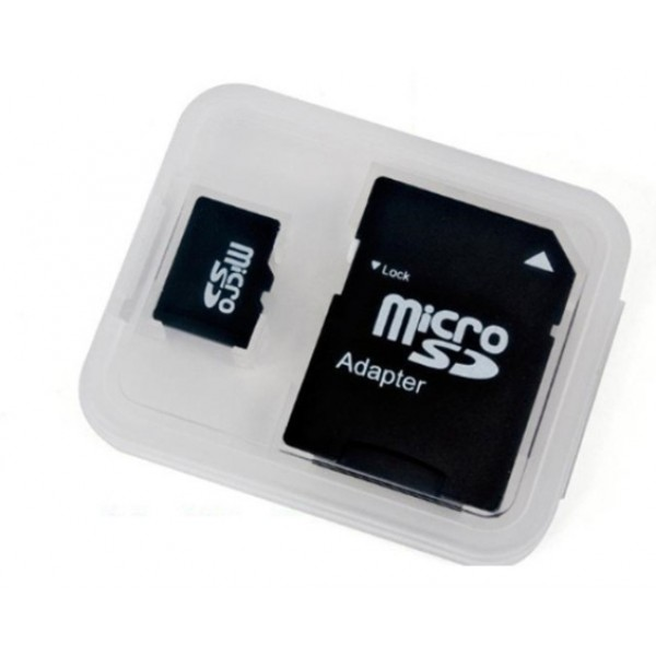 Atminties kortelė MicroSD 4GB (class 10) + SD adapteris