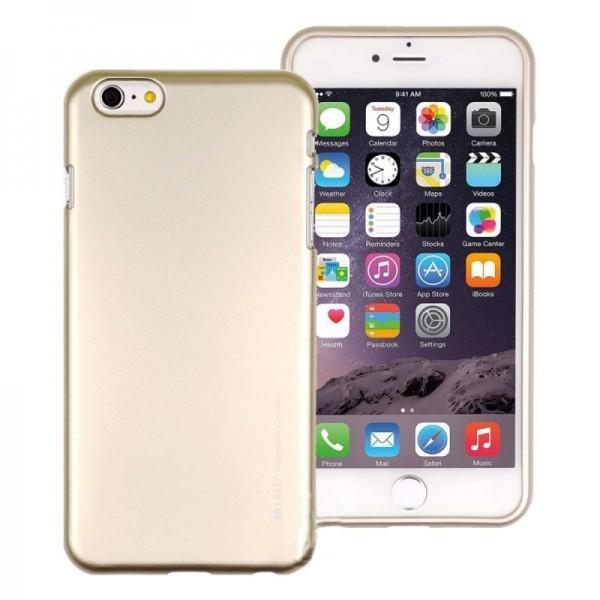 "Dėklas Apple Iphone 7 ""iJelly Metal"" Auksinis"