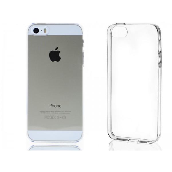 Permatomas, minkštas dėklas Apple Iphone 5 / 5s