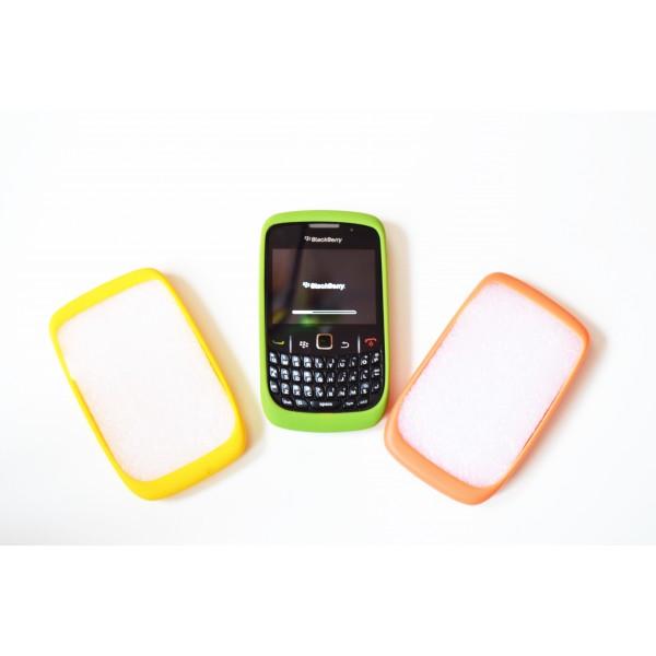 Dėklas Blackberry 8520 Curve žalias