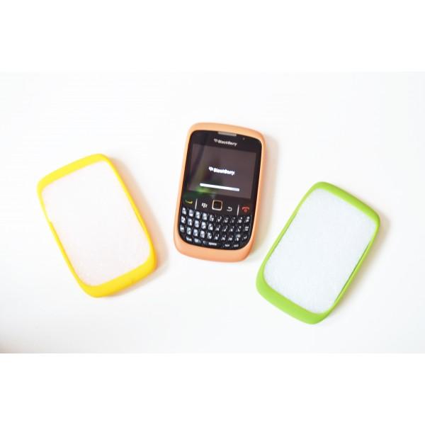 Dėklas Blackberry 8520 Curve Rausvas