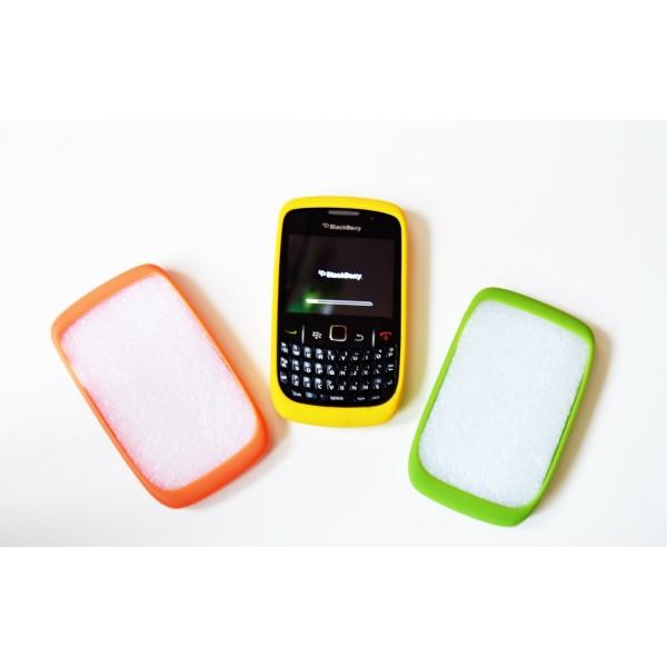 Dėklas Blackberry 8520 Curve geltonas