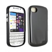 Silikoninis dėklas Blackberry Q10 Juodas