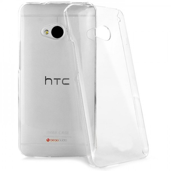 Permatomas, minkštas dėklas HTC One M7