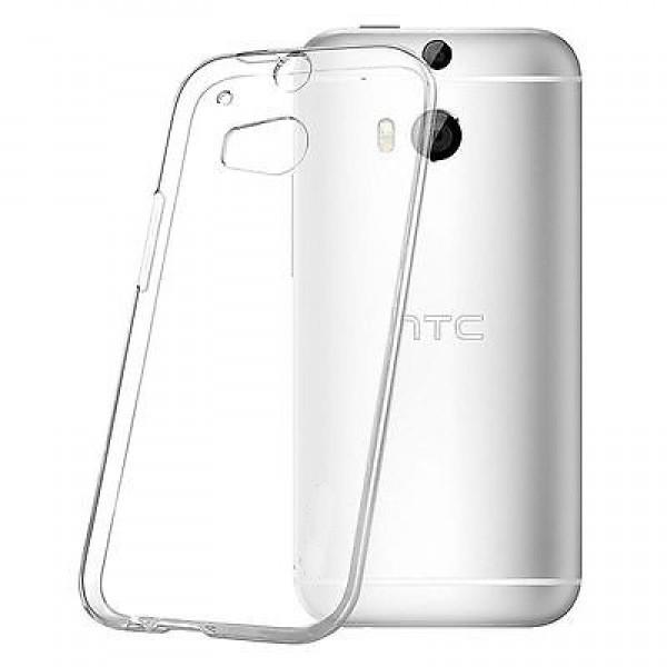 Permatomas, minkštas dėklas HTC One M8