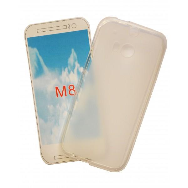 Matinis, guminis dėklas HTC One M8