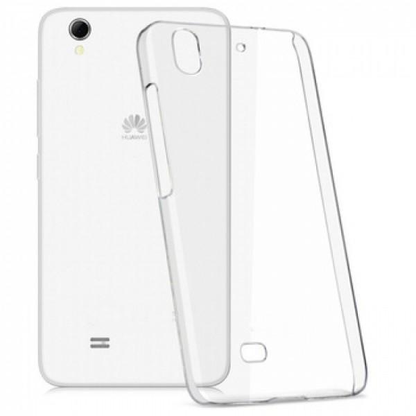 Permatomas, minkštas dėklas Huawei G620s