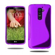 Guminis dėklas LG G2 Mini D620 Violetinis