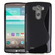 Guminis dėklas LG G3 D855 Juodas
