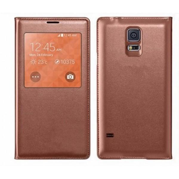 Atverčiamas dėklas Samsung Galaxy S5 G900 (Flip Cover)