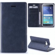 """Atverčiamas dėklas Samsung Galaxy S5 G900F """"Blue Moon Flip"""" Tamsiai mėlynas"""
