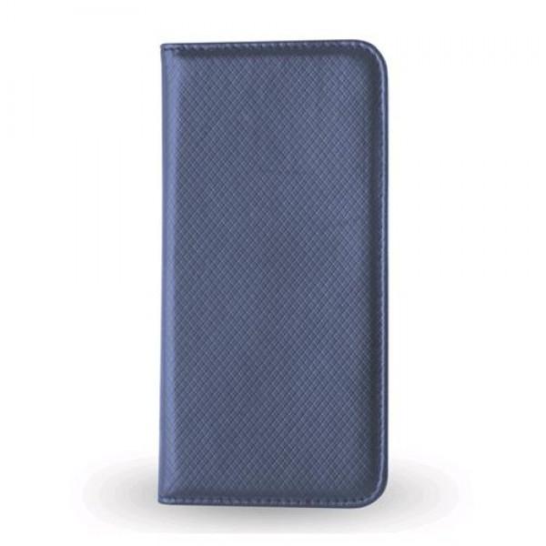 Atverčiamas dėklas Smart Magnet Samsung Galaxy S6 G920F Mėlynas