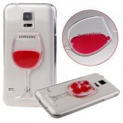 """Dėklas """"Wine Glass"""" Samsung A310 A3 (2016) Skaidrus"""