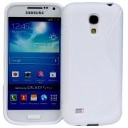 Guminis dėklas Samsung Galaxy S4 Mini i9190 Baltas
