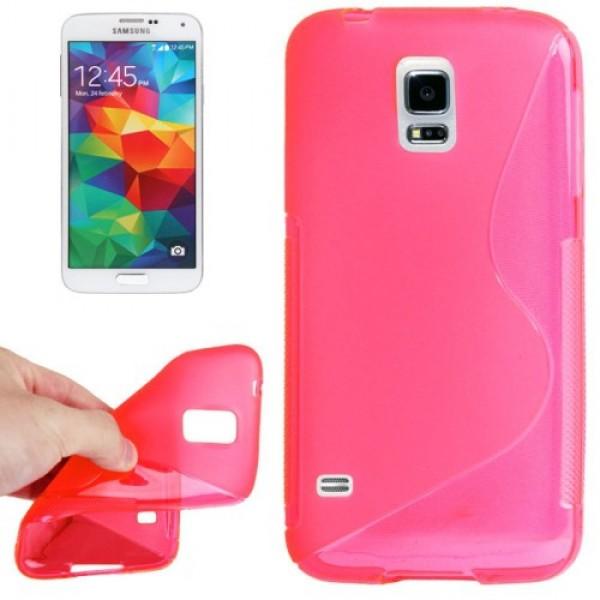 Guminis dėklas Samsung Galaxy Core 2 G355 Ružavas