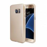 """Dėklas Samsung Galaxy S8 G950 """"Jelly Case"""" Auksinis"""