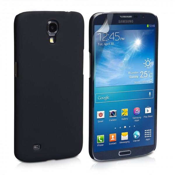 Guminis dėklas Samsung Galaxy Mega i9200 Juodas