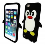 """Silikoninis dėklas """"Pingvinas"""" Apple Iphone 6 / 6s Juodas"""