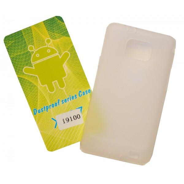 Matinis, guminis dėklas Samsung Galaxy S2 I9100