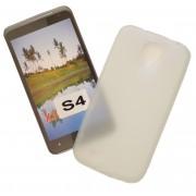 Matinis, guminis dėklas Samsung Galaxy S4 I9505