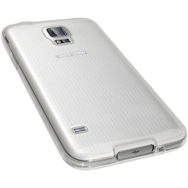 Permatomas, minkštas dėklas Samsung Galaxy S5