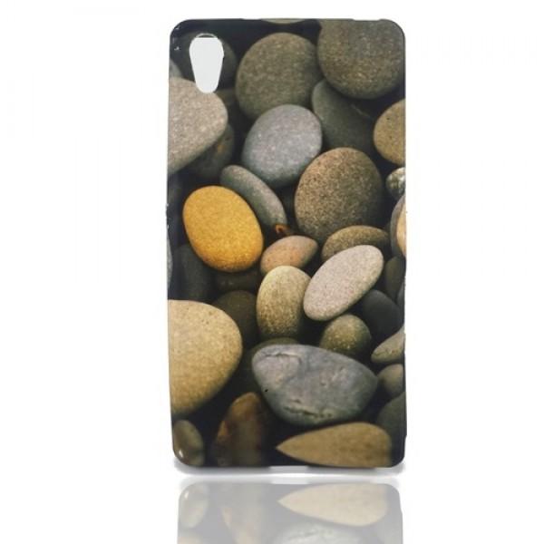 "Guminis dėklas "" Stones"" Sony Xperia Z2 D6503"