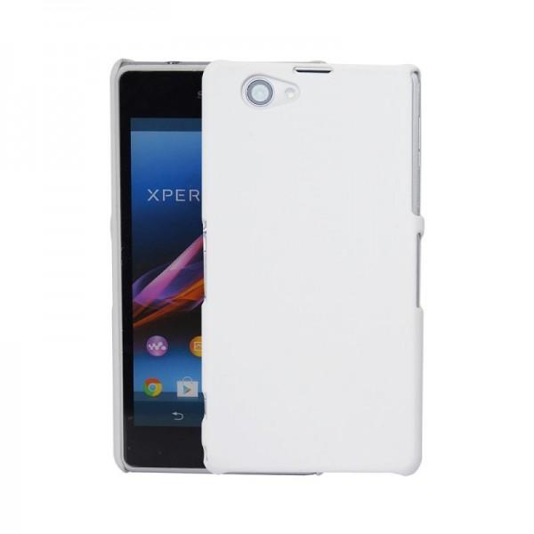 Guminis dėklas Sony Xperia Z1 C6903 Baltas