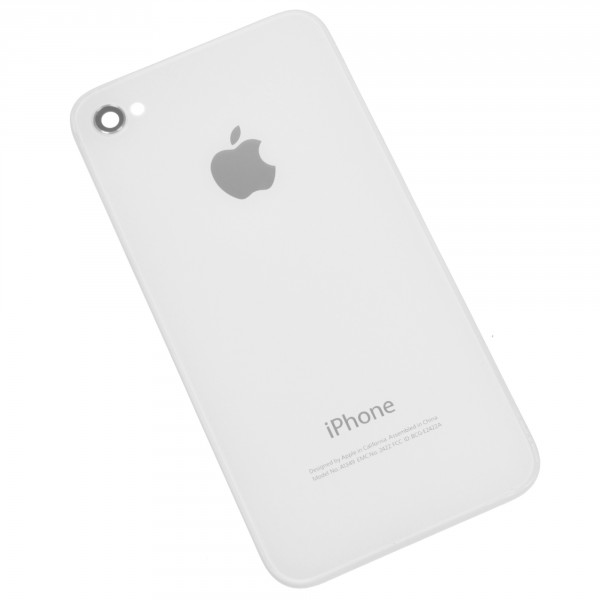 Galinis dangtelis Apple Iphone 4S Baltas HQ