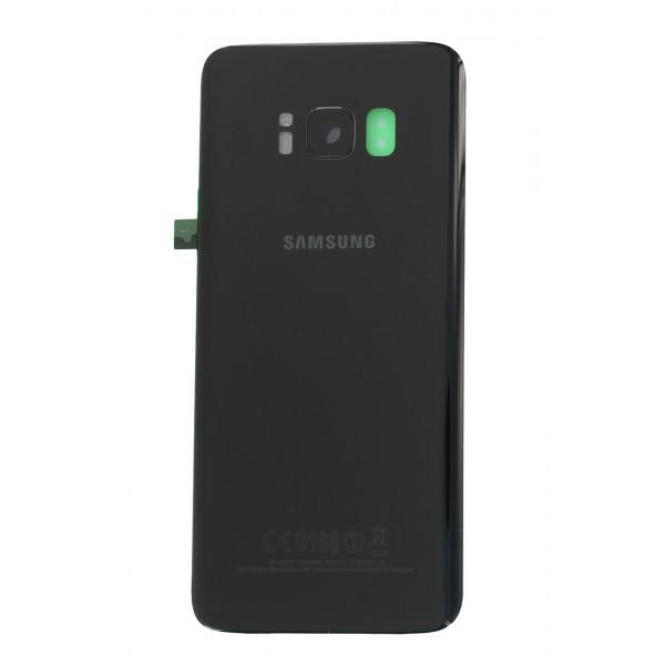 Galinis dangtelis Samsung Galaxy S8 G950 Juodas HQ
