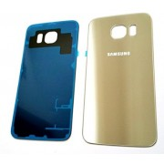 Galinis dangtelis Samsung Galaxy S6 Edge G925 Auksinis HQ