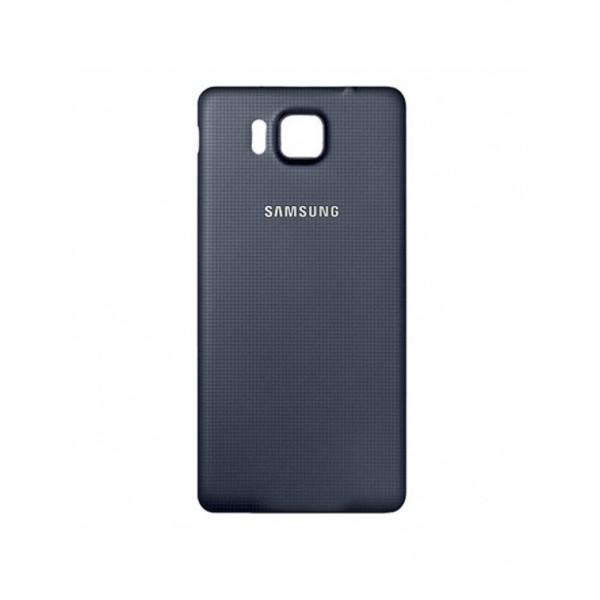 Galinis dangtelis Samsung Galaxy Alpha G850 HQ Juodas