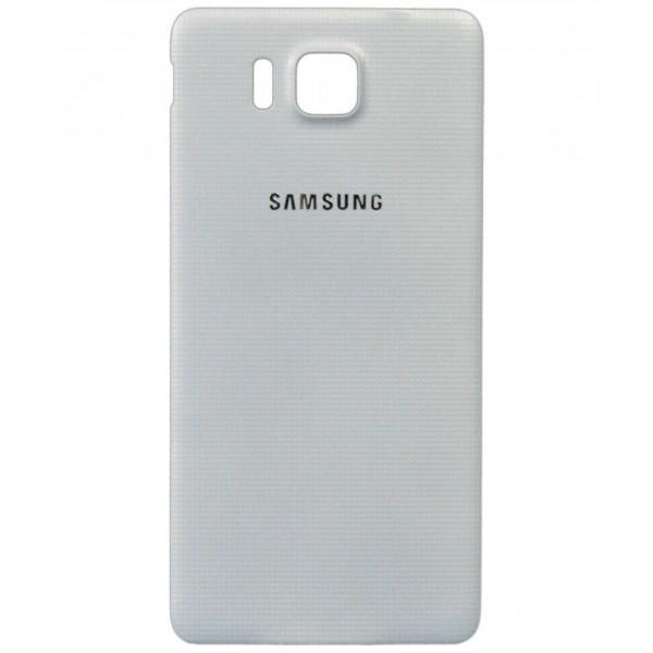 Galinis dangtelis Samsung Galaxy Alpha G850 HQ Baltas