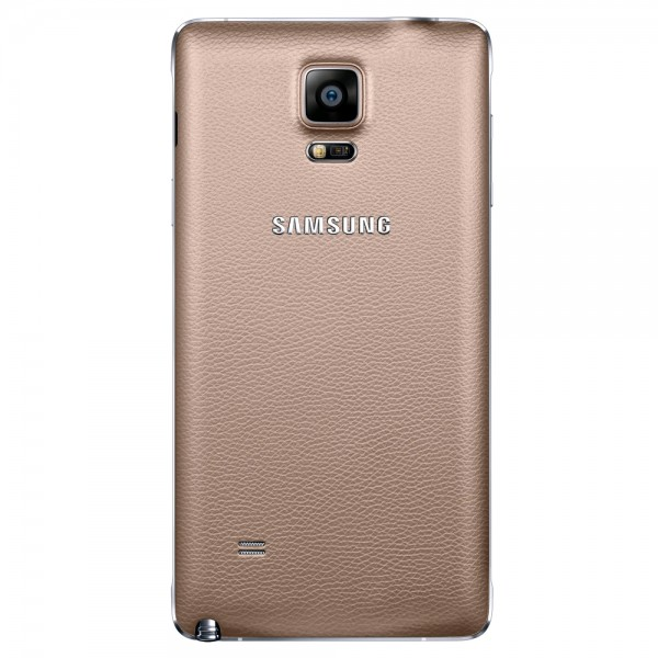 Galinis dangtelis Samsung Galaxy Note 4 N910 HQ Auksinis