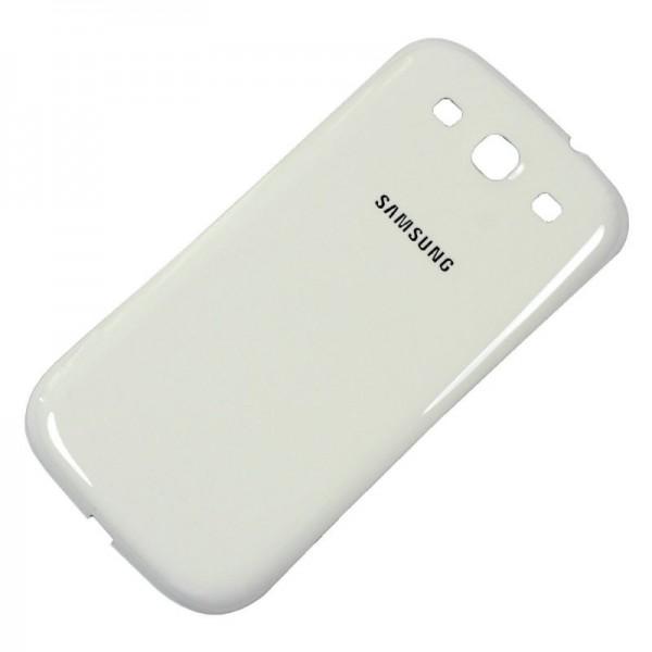 Galinis dangtelis Samsung Galaxy S3 I9300 Baltas HQ