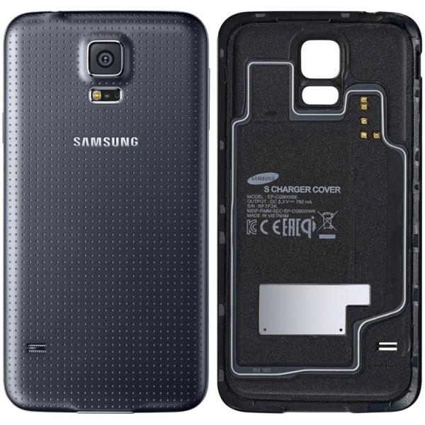 Galinis dangtelis Samsung Galaxy S5 G900 HQ Juodas