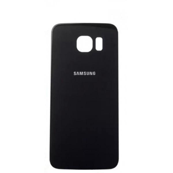 Galinis dangtelis Samsung Galaxy S6 Edge G925 Juodas HQ