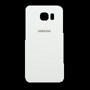 Galinis dangtelis Samsung Galaxy S6 Edge G925 Baltas HQ