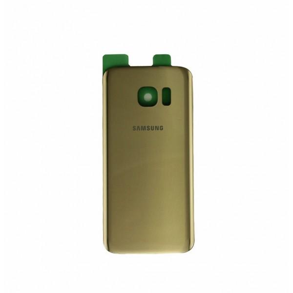 Galinis dangtelis Samsung Galaxy S7 Edge G935 Auksinis HQ