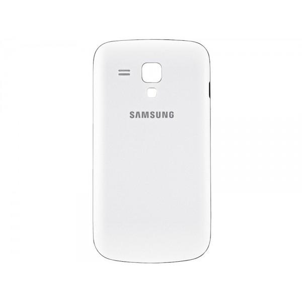 Galinis dangtelis Samsung Galaxy S Duos S7562 HQ Baltas
