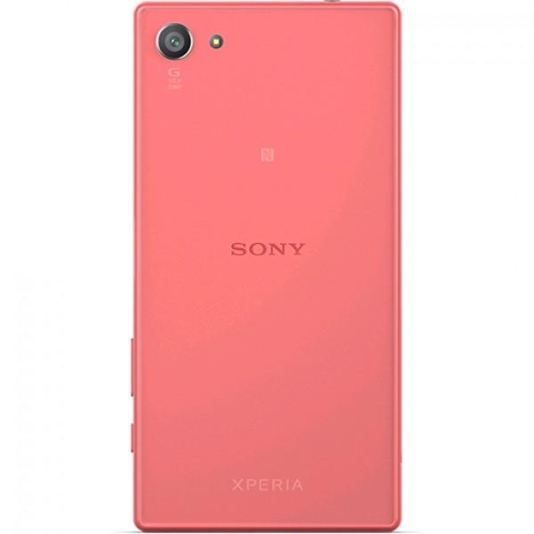 Galinis dangtelis Sony Xperia Z5 Compact E5803 Koralo spalvos HQ