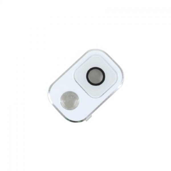 Samsung N9005 Note 3 kameros stikliukas baltas