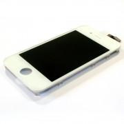 Ekranas Apple iPhone 4 su lietimui jautriu stikliuku baltas HQ