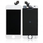 Ekranas Apple iPhone 5 su lietimui jautriu stikliuku baltas HQ