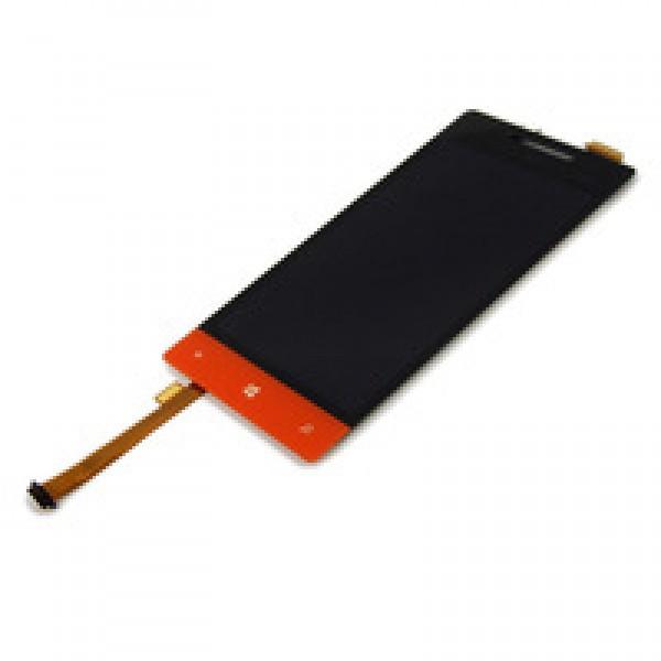Ekranas HTC 8S su lietimui jautriu stikliuku HQ raudonas
