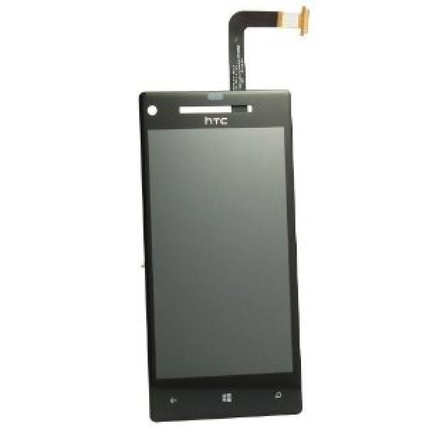 Ekranas HTC 8X su lietimui jautriu stikliuku HQ