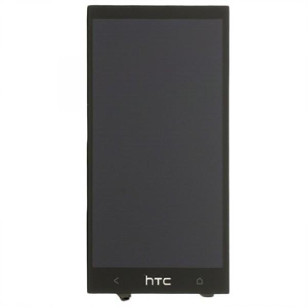 Ekranas HTC One Mini su lietimui jautriu stikliuku HQ juodas
