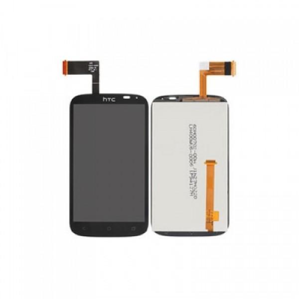 Ekranas HTC Desire X / T328e su lietimui jautriu stikliuku HQ